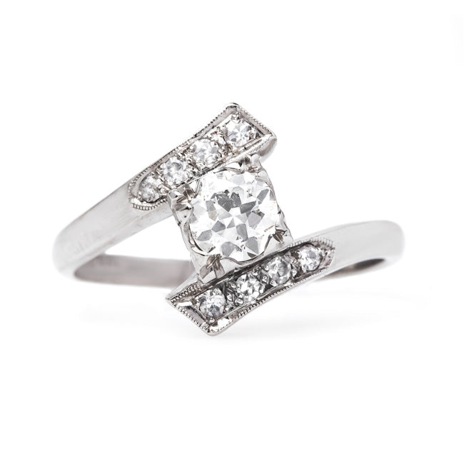 Vintage Engagement Ring | Antique Diamond Ring