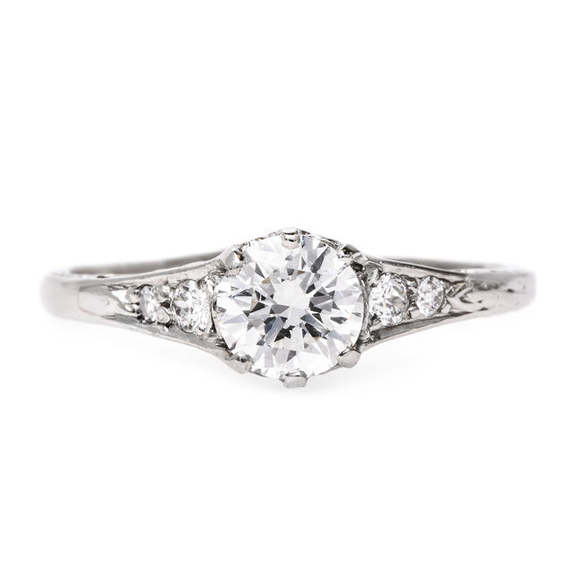 Timeless Art Deco Engagement Ring | Hayfield from Trumpet & Horn