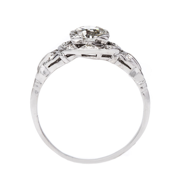 Beautiful and Handcrafted Art Deco Engagement Ring | Hazelmere from Trumpet & Horn