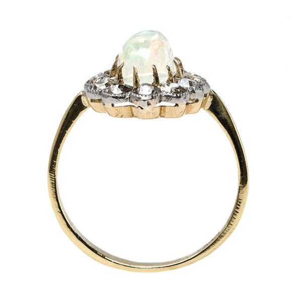 Show-Stopping Opal Halo Engagement Ring | Healdsburg from Trumpet & Horn