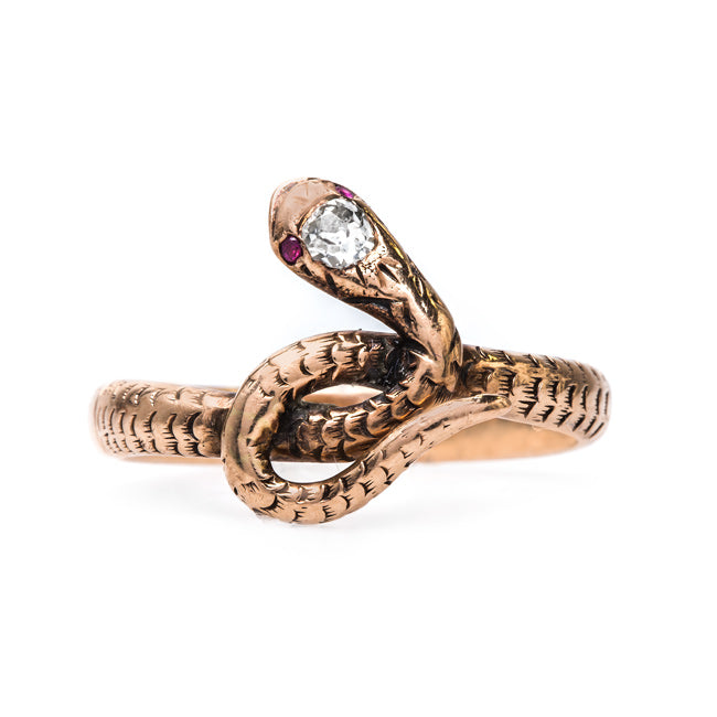 Victorian Snake Ring Fit for a Queen | Hemlock from Trumpet & Horn