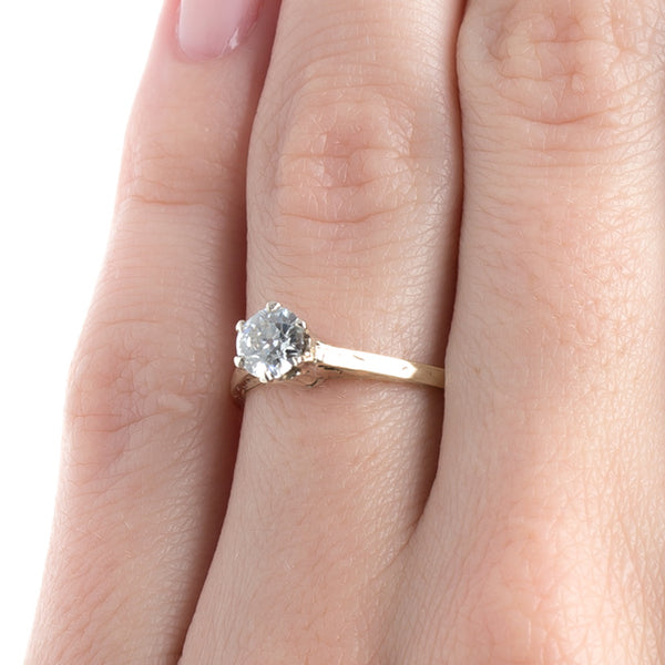 Wonderfully Traditional Victorian Era Solitaire Engagement Ring | Henderson from Trumpet & Horn