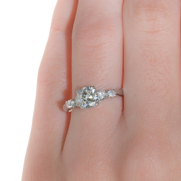 Modern Diamond Wedding Engagement Ring | Highlands from Trumpet & Horn