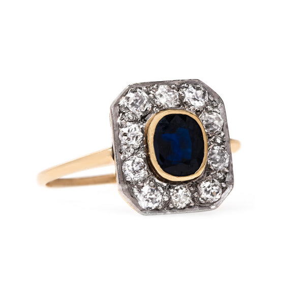 Glittering Sapphire and Diamond Ring | Holbrook from Trumpet & Horn