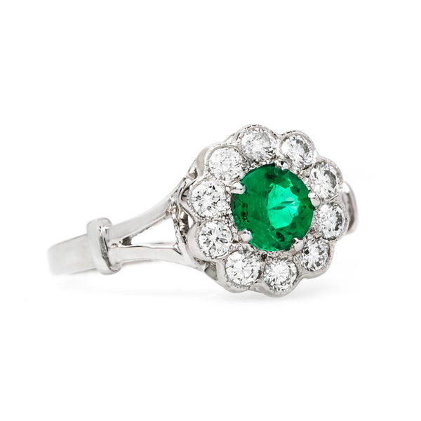 Lovely Tourmaline Vintage Inspired Ring | Holiday from Trumpet & Horn