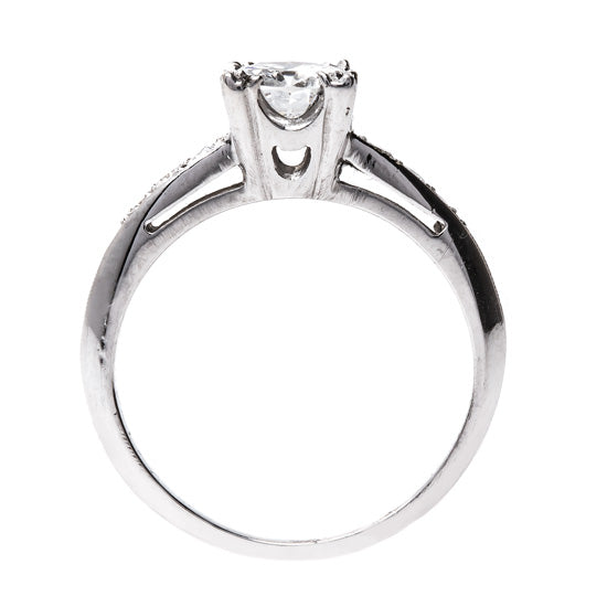 Modern Era Platinum and Diamond Ring | Huxley from Trumpet & Horn