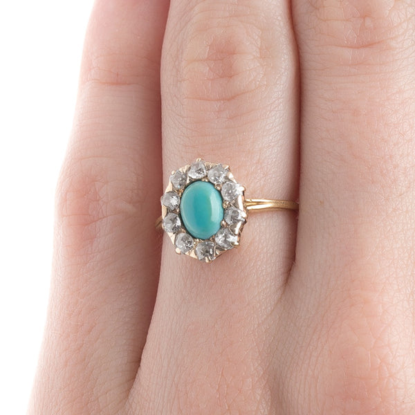 Victorian Oval Turquoise Ring | Idyllwild from Trumpet & Horn