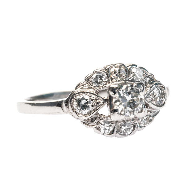Jacobs Creek vintage Art Deco engagement ring from Trumpet & Horn