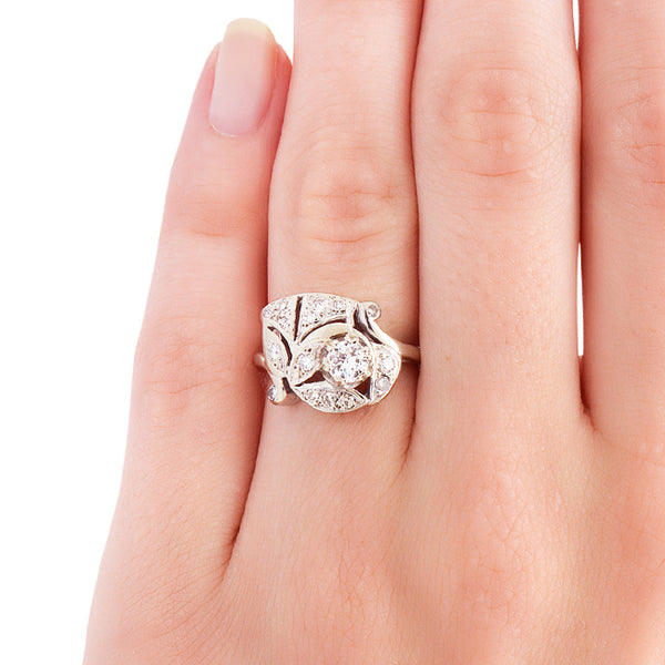 Vintage Engagement Ring | Unique Vintage Engagement Ring