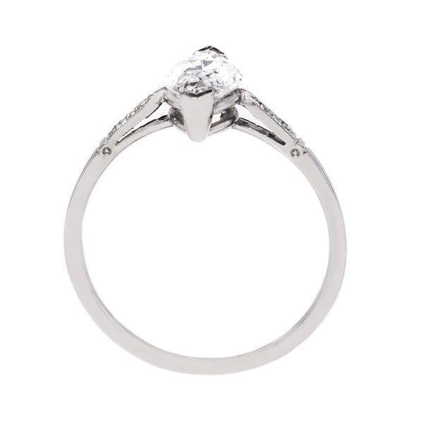 Exceptionally Lovely Marquise Cut Diamond Engagement Ring | Kavala from Trumpet & Horn