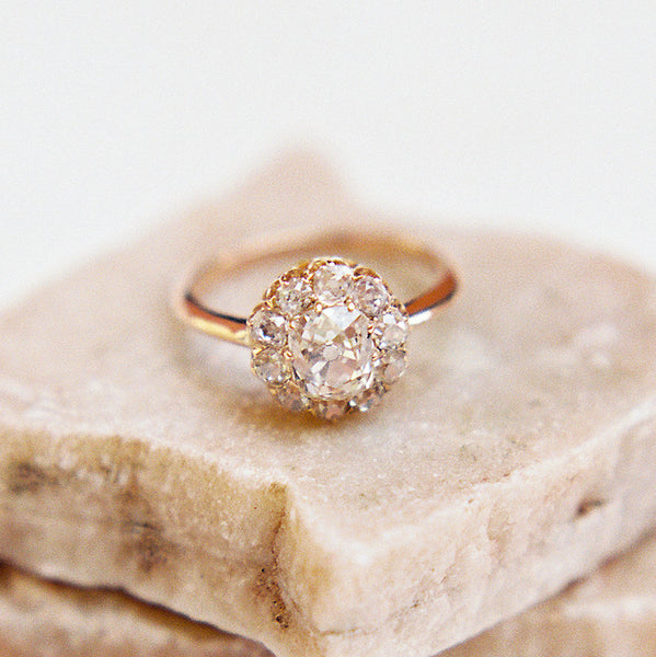 Victorian Cluster Ring with French Hallmarks | Photo by Kayla Barker