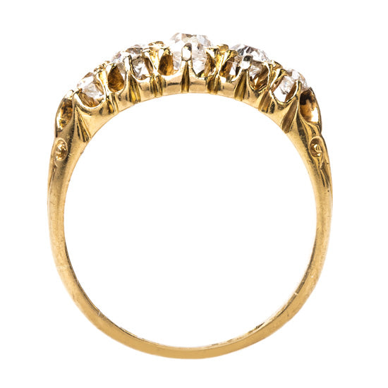 Victorian Ring with English Hallmarks | Kingsbridge from Trumpet & Horn