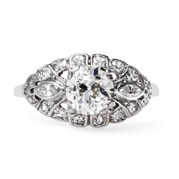 Stunning Art Deco Engagement Ring | Kingsway from Trumpet & Horn