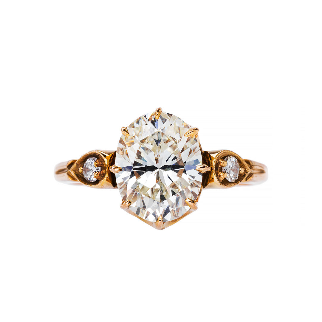 Handmade Oval Cut Engagement Ring | Kingswood