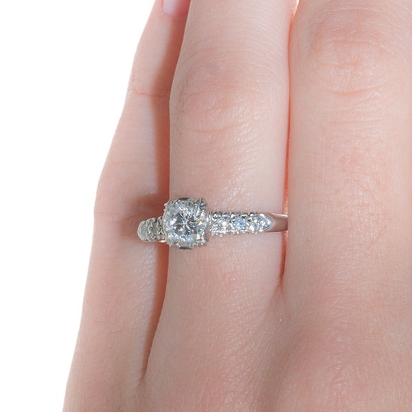 Vintage Engagement Ring | Vintage Diamond Ring | Knightville from Trumpet & Horn