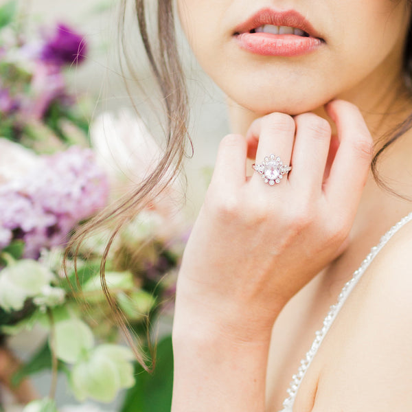Angelica | Claire Pettibone Fine Jewelry Collection from Trumpet & Horn | Photo by Lahna Marie Photography