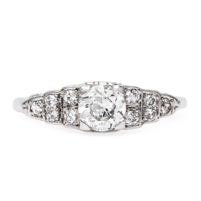 Classic Vintage Engagement Ring | Lauriston from Trumpet & Horn