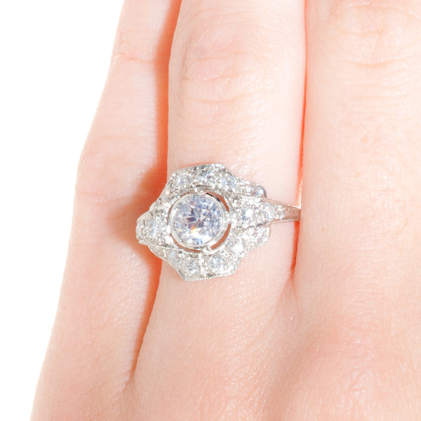 Vintage Edwardian Era Engagement Ring | Lexington from Trumpet & Horn