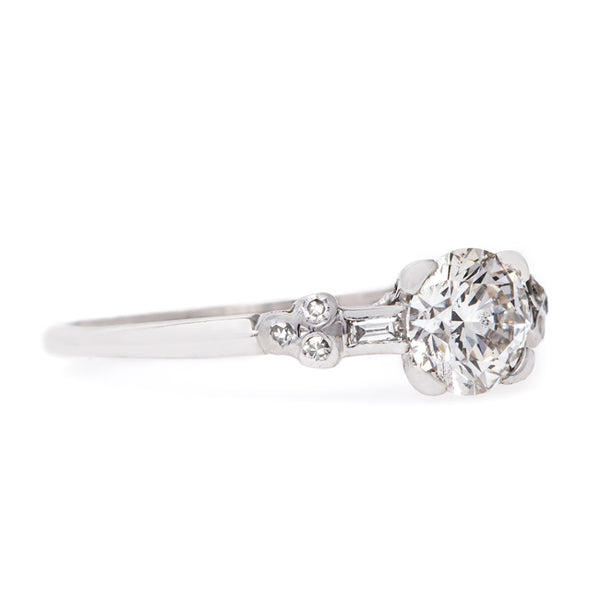 Timeless Art Deco Solitaire Engagement Ring | Lincoln Square from Trumpet & Horn