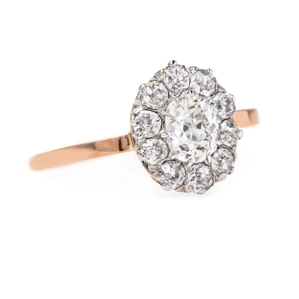 Old Mine Cut Diamond Dream Ring | Lockledge from Trumpet & Horn