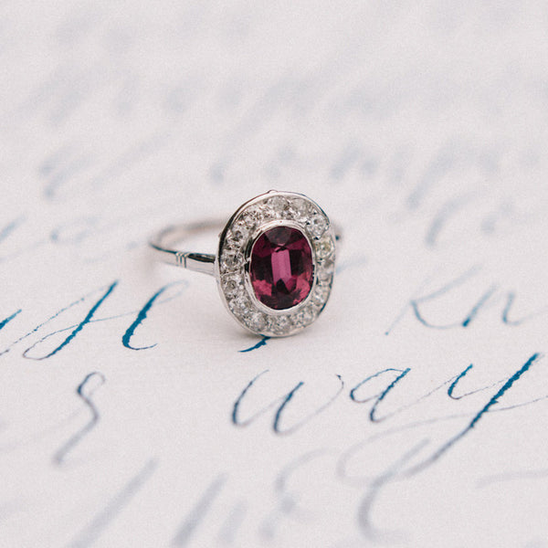 Spectacular Vintage Unheated Ruby Ring | Photo by 4CornersPhotography