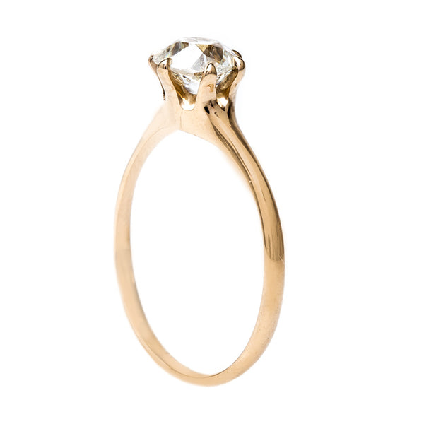 Exemplary Victorian Antique Solitaire | Los Olivos from Trumpet & Horn