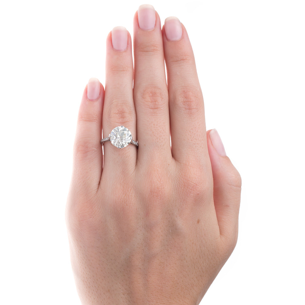 Show-Stopping Edwardian Solitaire with Sizable Diamond | Lucerne ...