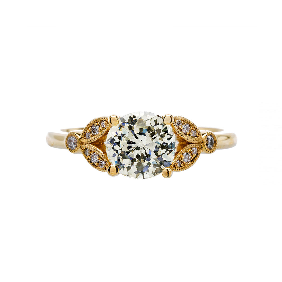 Crown Jubilee® Diamond Engagement Ring | Luna