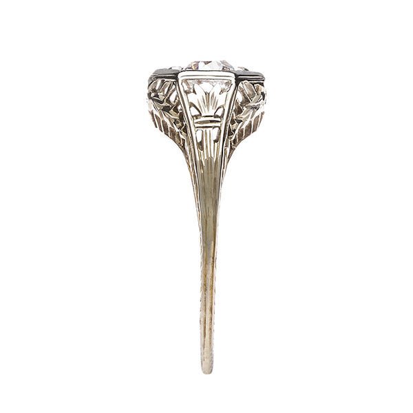 Vintage Art Deco Engagement Ring | Lynnfield from Trumpet & Horn