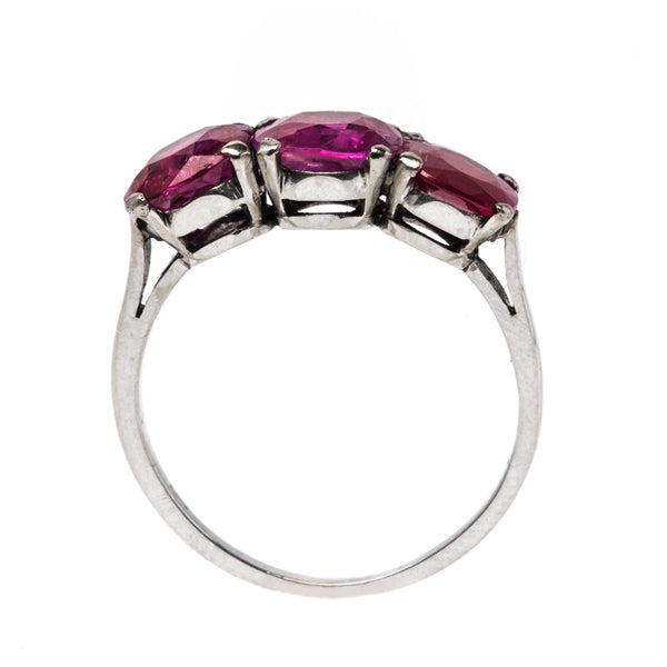 Edwardian Burma Ruby Ring | Mandalay from Trumpet & Horn