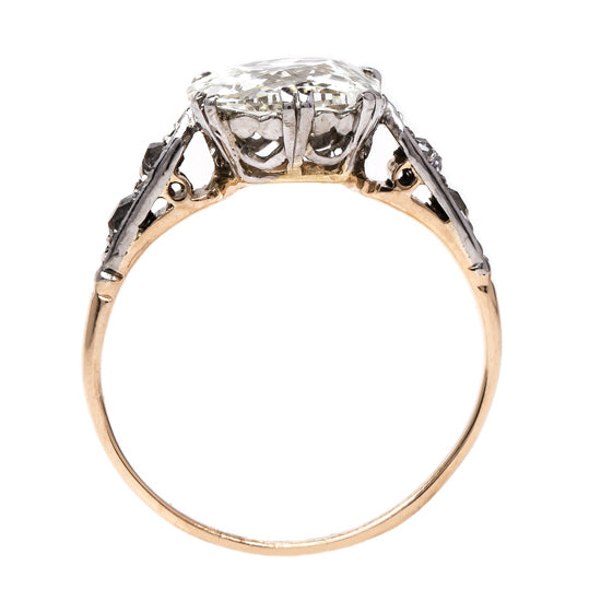 Show Stopping Vintage Solitaire Ring | Manhattan from Trumpet & Horn