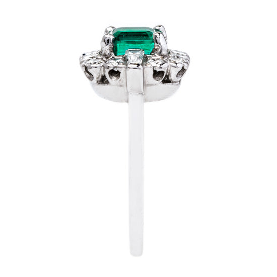 Exceptional Mid Century Emerald Ring | Maple Lake from Trumpet & Horn
