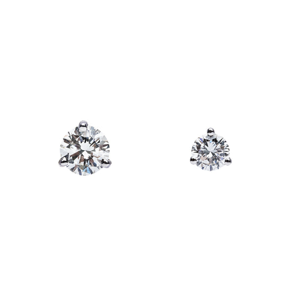 Martini Studs 0.99ct Total Weight