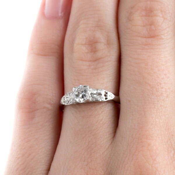 Epitome of Art Deco Engagement Ring Design | Maverick from Trumpet & Horn