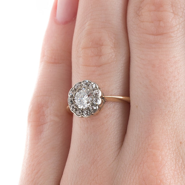 Classic Victorian Halo Style Engagement Ring | Maywood from Trumpet & Horn