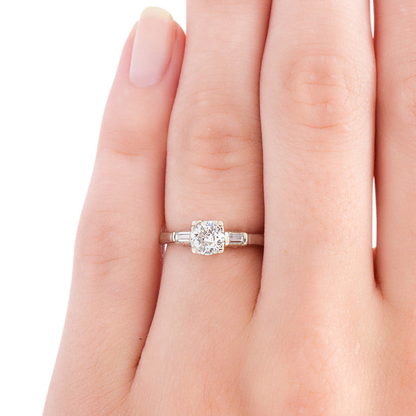 Retro Classic Diamond Wedding Ring | Mcbee from Trumpet & Horn