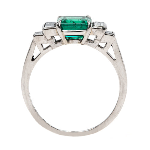 Majestic Columbian Emerald Engagement Ring | McKinney from Trumpet & Horn