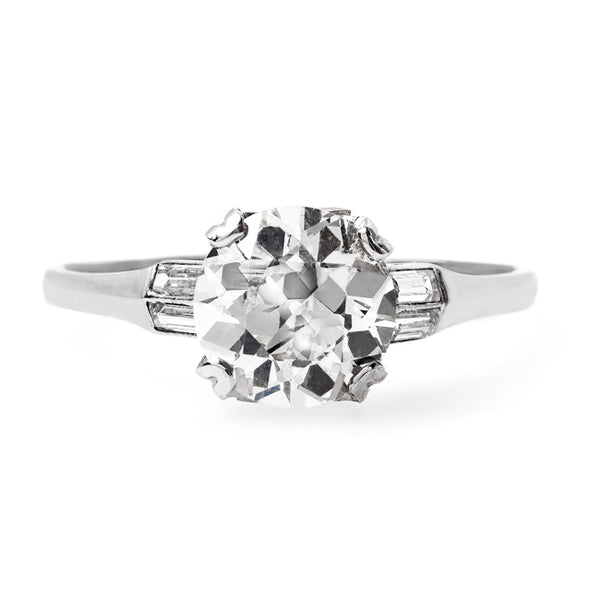 Exceptional Art Deco Solitaire Engagement Ring | Middlebury from Trumpet & Horn