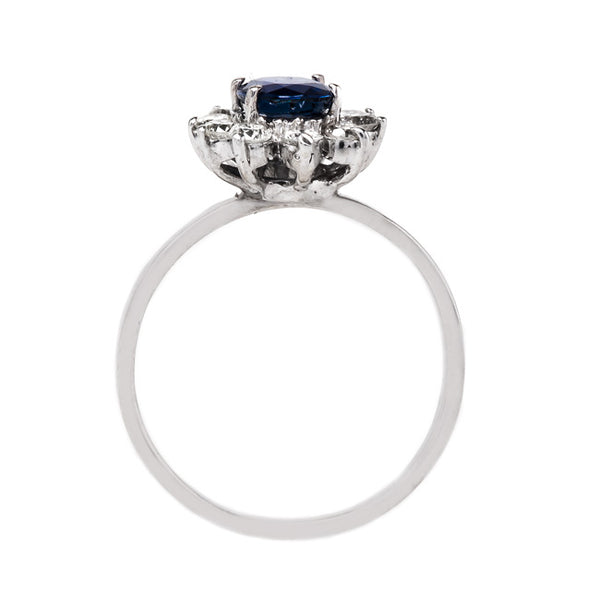 Sapphire and Diamond Snowflake Ring | Millwood from Trumpet & Horn