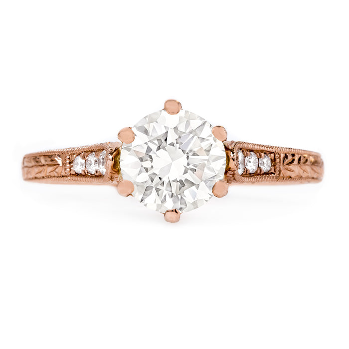 Timeless Rose Gold Solitaire | Marigold from Trumpet & Horn