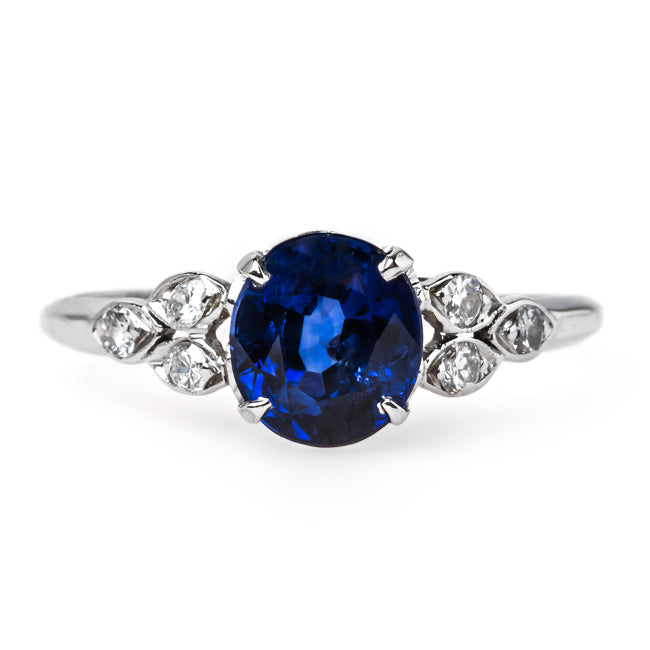 Dreamy Sapphire Ring | Sea Breeze from Trumpet & Horn