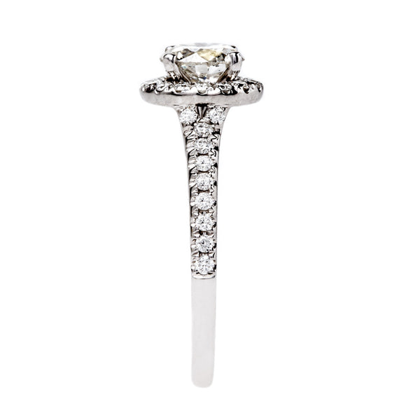 Glittering White Gold and Diamond Ring | Moonflower from Trumpet & Horn