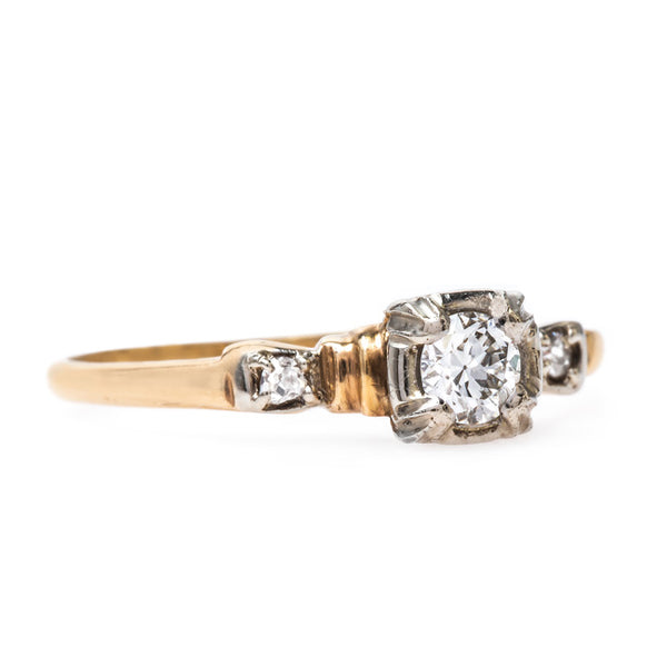 Affordable Vintage Engagement Ring | Moorseville from Trumpet & Horn