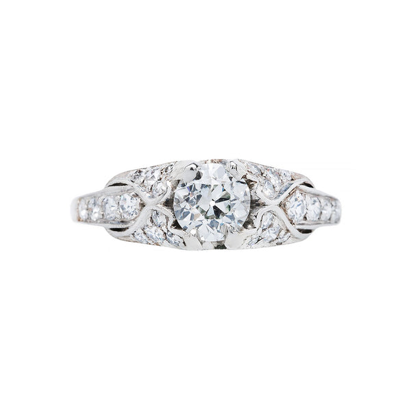 Antique Edwardian Engagement Ring | Mulberry Lane
