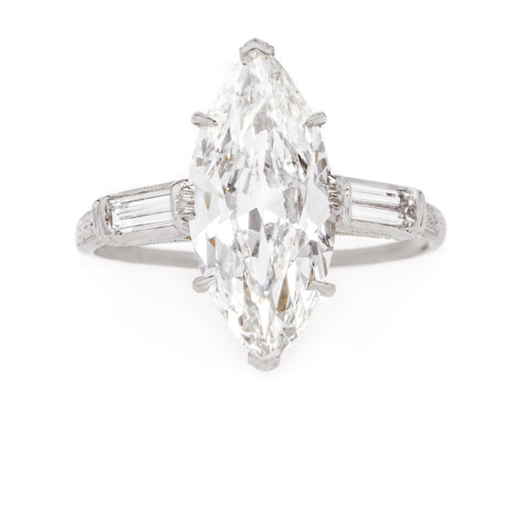 Perfect Marquise Diamond Ring | Mykonos from Trumpet & Horn