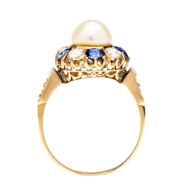 Antique Pearl Ring | Kingsville from Trumpet & Horn