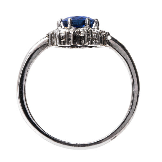 Timeless Sapphire and Diamond Ring | Newport Beach from Trumpet & Horn