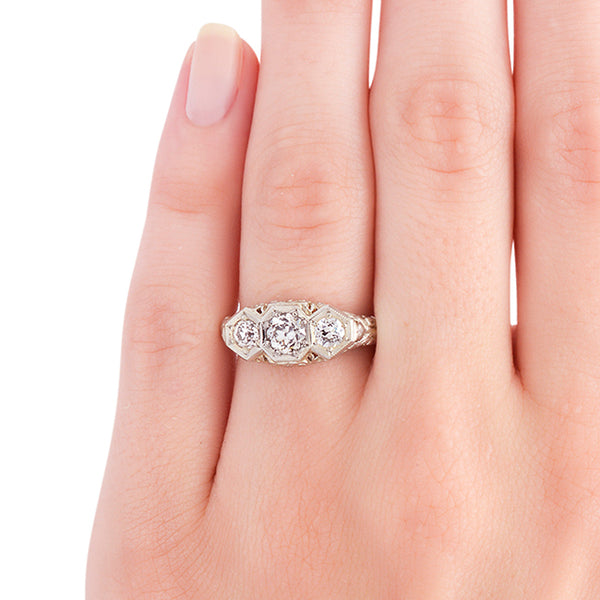 Antique Engagement Ring | Edwardian Engagement Ring