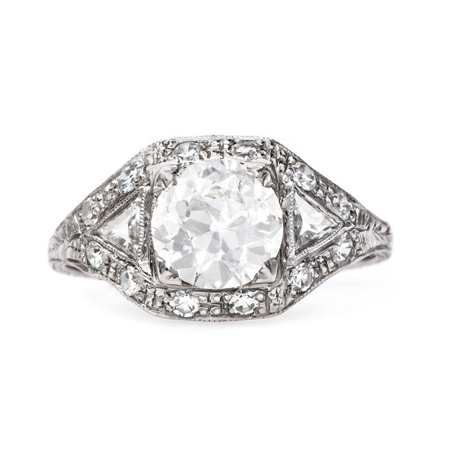 Vintage Art Deco Engagement Ring | Norwood from Trumpet & Horn