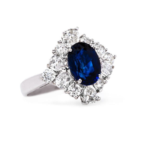 Unique and Bold Modern Era Sapphire Ring | Ocean Springs from Trumpet & Horn